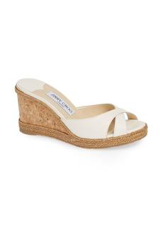 Jimmy Choo Almer Cork Wedge Sandal (Women)
