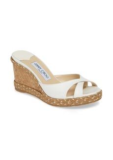 Jimmy Choo Almer Espadrille Wedge Sandal (Women)