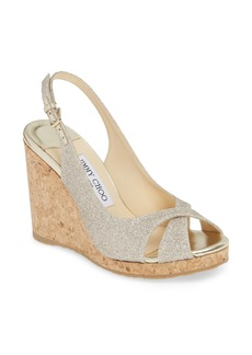 Jimmy Choo Amely Slingback Wedge Sandal (Women)