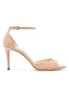 Jimmy Choo Annie 85 suede sandals