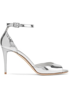 Jimmy Choo Annie 85 metallic leather sandals