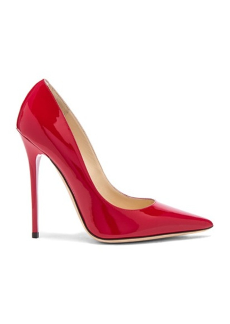 Jimmy Choo Anouk 120 Patent Leather Pump