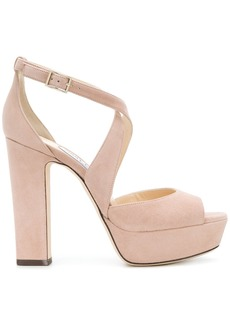 Jimmy Choo April 120 sandals - Nude & Neutrals