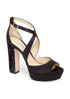 Jimmy Choo April Platform Sandal (Women)