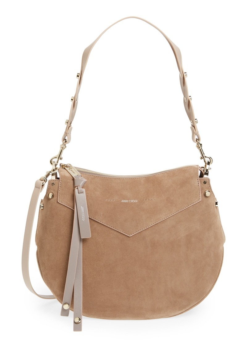 Jimmy Choo Artie Suede Hobo Bag 37cbbd3206ca4