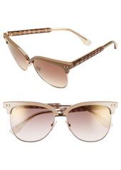 Jimmy Choo 'Aryaya' 57mm Retro Sunglasses