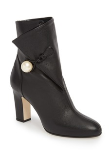 Jimmy Choo Bethanie Button Flap Bootie (Women)