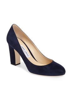 Jimmy Choo Billie Block Heel Pump (Women)
