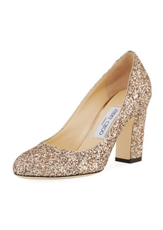 Jimmy Choo Billie Glittered Pump