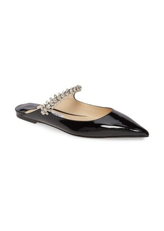 Jimmy Choo Bing Crystal Pointy Toe Mule (Women)