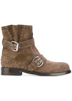 Jimmy Choo Blyss biker boots - Brown