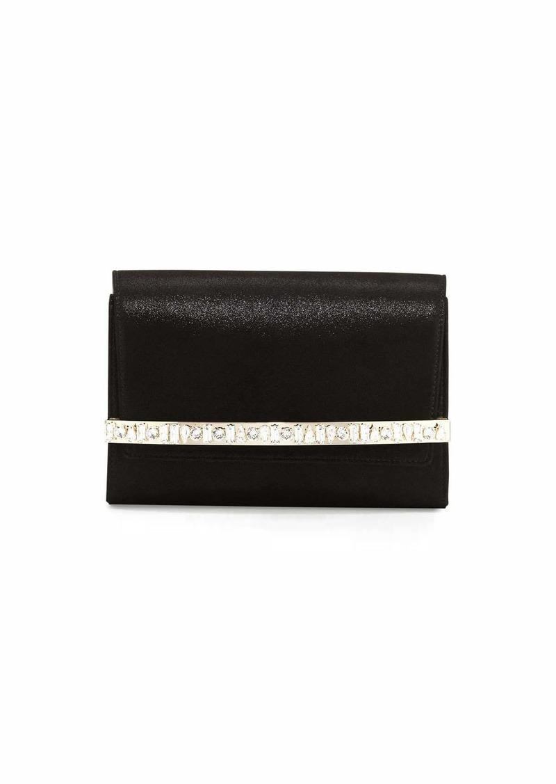 5f7f375d81 Jimmy Choo Bow Crystal-Bar Clutch Bag | Handbags