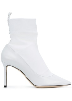 Jimmy Choo Brandon 85 boots - White