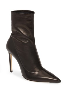 Jimmy Choo Brin Slouch Pointed Toe Stiletto Bootie (Women)