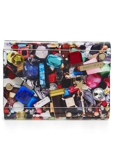 Jimmy Choo 'Candy Jewel' Acrylic Flap Clutch