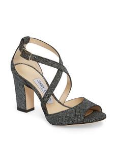 Jimmy Choo Carrie Cross Strap Sandal (Women)