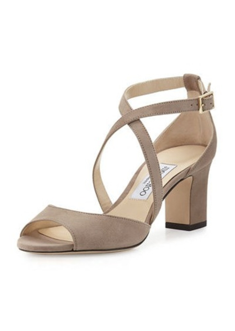 On Sale today! Jimmy Choo Jimmy Choo Carrie Suede 65mm ...