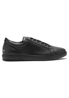 Jimmy Choo Cash leather low-top trainers