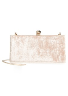 Jimmy Choo Celeste Crushed Velvet Clutch
