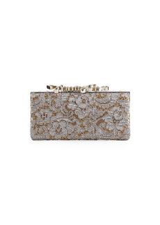 Celeste Love Lace Box Clutch Bag