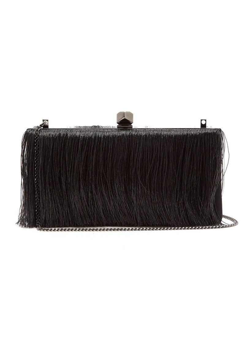 Jimmy Choo Celeste Small Fringe Clutch Bag