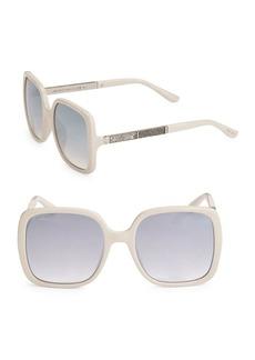 Jimmy Choo Charis Oversize Square Sunglasses