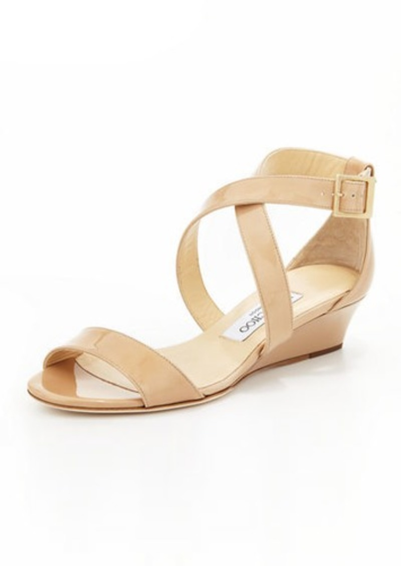 14eb2e365b61 Jimmy Choo Jimmy Choo Chiara Demi-Wedge Crisscross Sandal