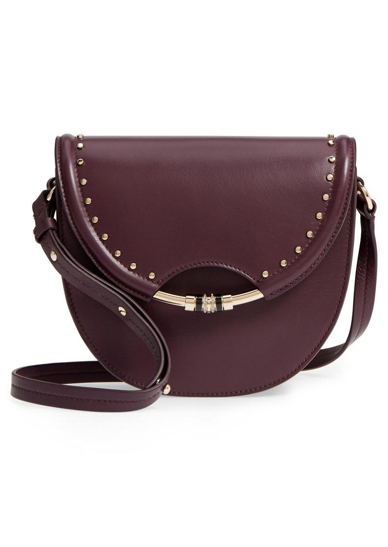 fc4b7ec805 Jimmy Choo Jimmy Choo Chrissy Studded Leather Crossbody Bag