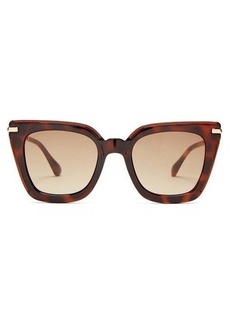 Jimmy Choo Ciara square tortoiseshell-acetate sunglasses