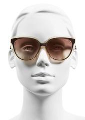 Jimmy Choo 'Cindy' 57mm Retro Sunglasses