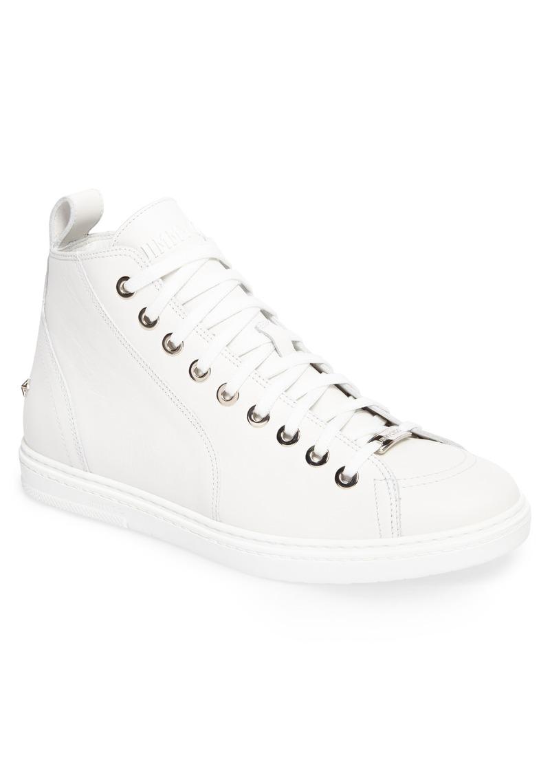 Jimmy choo Men's Colta Star Embossed High Top Sneaker x5ckkg6GjB
