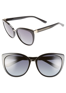 Jimmy Choo 'Danas' 56mm Cat Eye Sunglasses