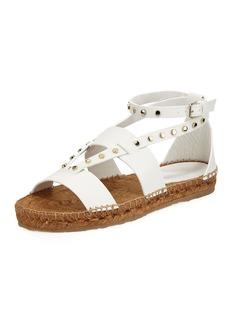 Jimmy Choo Denise Flat Studded Sandal