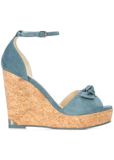 Jimmy Choo Dessie 120 wedges - Blue