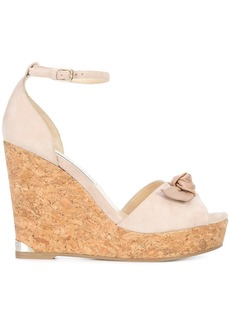 Jimmy Choo Dessie 120 wedges - Pink & Purple