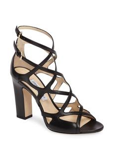 Jimmy Choo Dillan Block Heel Sandal (Women)