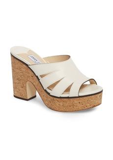 Jimmy Choo Dray Platform Slide Sandal (Women)