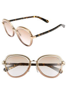 Jimmy Choo Drees 51mm Gradient Sunglasses