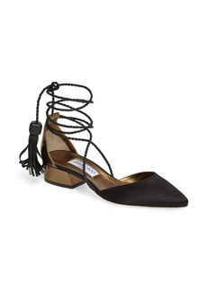 Jimmy Choo Duchess Ankle Wrap Flat (Women)