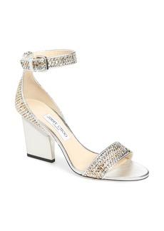 Jimmy Choo Edina Metallic Sandal (Women)