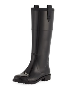 Jimmy Choo Edith Tall Rubber Rain Boot