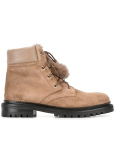 Jimmy Choo Elba boots - Nude & Neutrals