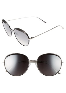 Jimmy Choo Ello 56mm Round Sunglasses