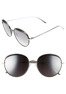 Jimmy Choo Ello 56mm Round Sunglasses