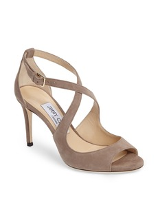 Jimmy Choo Emily Cross Strap Sandal (Women)