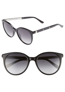 Jimmy Choo Erie 54mm Gradient Round Sunglasses