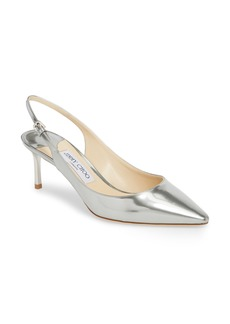 Jimmy Choo Erin Metallic Slingback Pump (Women)