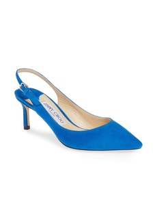 Jimmy Choo Erin Pointy Toe Slingback Pump (Women)