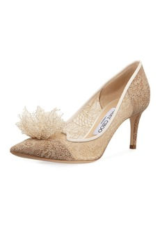 Jimmy Choo Estelle Sparkly Lace 60mm Pumps