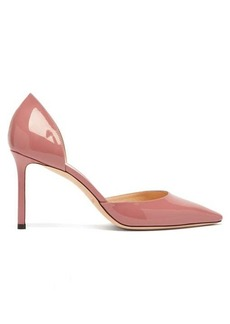 Jimmy Choo Esther 85 patent-leather d'Orsay pumps